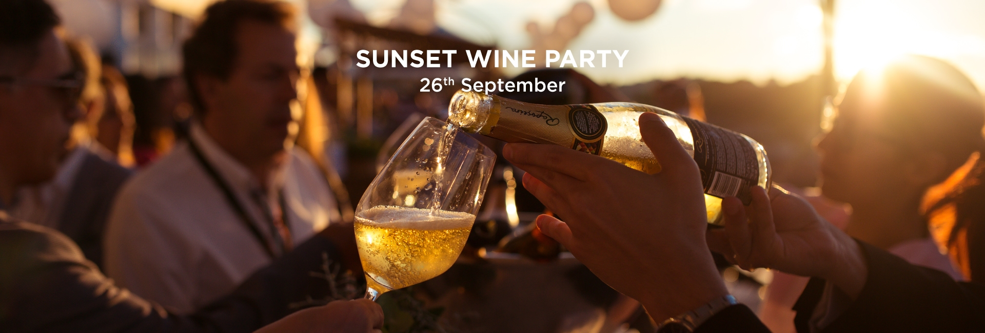 SUNSET WINE PARTY - 26TH SEPTEMBER